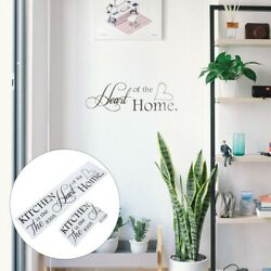 2pcs Wall Clings Removable Kitchen Stickers for Wall Kitchen $6.31