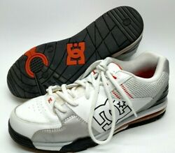 DC Versatile Mens Skating Shoes Size 13 White Gray 300243 Athletic $44.99