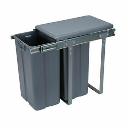 Pull Out Kitchen Bin Under Sink Dual Bins Cupboard Rubbish Waste Recycling TC AU $99.00