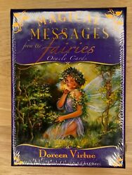 Doreen Virtue Magical Messages from the Fairies 44 Oracle Cards Box amp; Guidebook $44.00