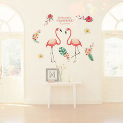 Flowers Wall Decorations Wall Stickers Fashion Waterproof Decals for Living Room $7.41