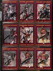 1991 92 Fleer Dikembe Mutombo Auto Autograph Stamped Denver Nuggets 12 of 12 $59.99