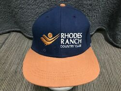 Rhodes Ranch Country Club Adult Adjustable Cap Hat $19.99
