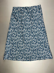 Loft Floral Pull On Midi Skit Petite XS Brand New Without Tags $10.00