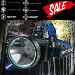 Super Bright LED Headlamp Rechargeable Headlight Head Torch For Hunting 2 Modes $13.79
