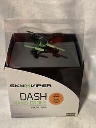 New Sky Viper Dash Nano Drone Indoor Flying Auto Hover Auto Launch amp; Land $19.99