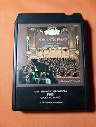 101 Strings Orchestra Plus Cocktail Piano 8 Track tape $4.99