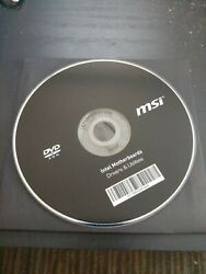 MSI Intel Motherboard Drivers amp; Utilities DVD Rom Replacement Disc $1.00