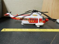 Tonka Fire Department Helicopter With Lights amp; Sounds 2010 Hasbro Funrise $12.00