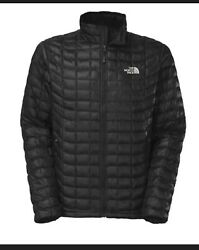 The North Face Men's Thermoball Eco Insulated Puffer Jacket Black Size Large NWT $130.00