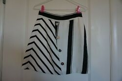 Perfect Condition Maje Striped Trapeze Skirt for Women Size 34 36 $39.90