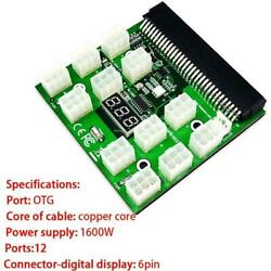 6Pin Breakout Board For HP PSU GPU Mining LED Display Replacements HOT Good F4W7 $44.61