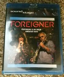 Foreigner Featuring 12 of Their Greatest Hits Blu ray SoundStage $12.99