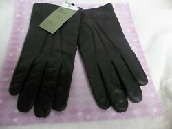 Goodfellow Mens Gloves Leather 3M Thinsulate Lined Tech Touch Black XL $13.99