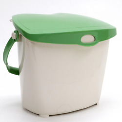 Compost Bin 1.9 Gal. Food Scrap Pail Eco Green Lid Kitchen Waste Removable Lid $18.59