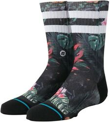 Stance Kids 186488 Bagheera Crew Cut Socks Boys Black Size L $22.40