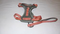 Kurgo Journey Dog Harness Size: S CORAL Grey quot;BRAND NEWquot; $18.50