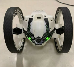 Parrot Mini Drone Jumping Sumo App controlled Vehicle w Camera Tested Working $40.00