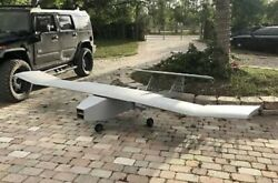 Real Deal Military Uav Target Camera Drone Airplane Full Scale ARF 14' Wingspan $999.00