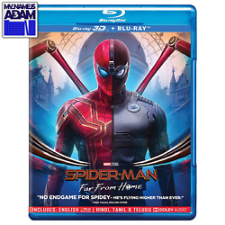 SPIDER MAN: FAR FROM HOME 3D 2D REGION FREE $28.95