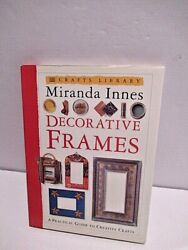 1995 DK crafting library DECORATIVE FRAMES how make picture frames Miranda Innes $2.50