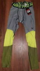Nike Pro Hyperwarm Mens Set Fitted Top M Compression Bottom L $55.00