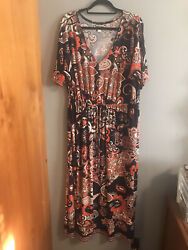 Womens Maxi Plus Size Dress 1x $15.00