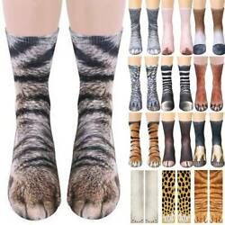 Men Eomens 3D Animal Thigh Funny Novelty High Cartoon Stocking Chicken Leg Socks $7.59