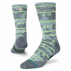 Stance Socks #x27;Breaker Crew Cycling#x27; Size L Crew Cycling New With Tags $19.99
