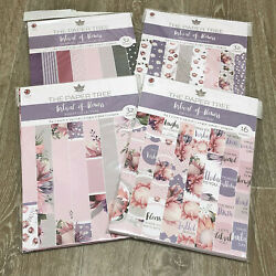 BN The Paper Tree Festival of Flowers Complete Collection Bundle A4 Papers GBP 23.99