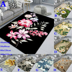 Europe Floral Carpets Anti Slip Rug Home Thickend Rugs Floor Bedroom Area Carpet $51.29