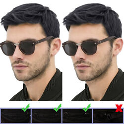 Mens Brown Short Straight Wigs Natural Faux Full Hair Cosplay Fancy Party Wig $15.67