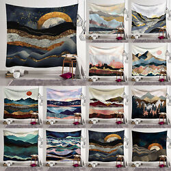 Tapestry Wall Hanging Bedspread Beach Throw Cover Boho Bedroom Home Decoration $17.57