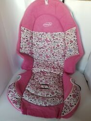 Evenflo Chase Pink Baby Car Seat Cover Cushion Fabric Padding #32911030 $20.00