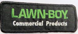 Vintage Lawn Boy Commercial Products Logo Sew On Patch