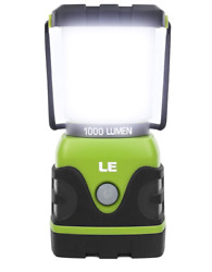 Le Led Camping Lantern Battery Powered Led With 1000Lm 4 Light Modes Waterpro $25.99