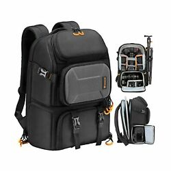 TARION Pro Camera Backpack Large Camera Bag with Laptop Compartment Tripod Ho... $113.15