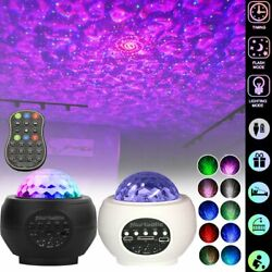Galaxy Projector Remote USB Bluetooth Music Starry Ocean Stage Night Light Lamp $31.99