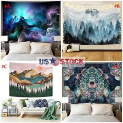 Large Tapestry Wall Hanging Home Decor Hippie Mandala Psychedelic Flower Poster $12.10