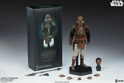 SIDESHOW 12quot; STAR WARS ROTJ LANDO CALRISSIAN SKIFF GUARD VER 1 6TH SCALE FIGURE $245.00
