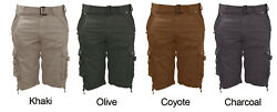 Men#x27;s Belted Cargo Shorts NICE $16.97