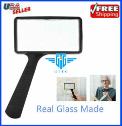 Handheld Rectangular 3X Magnifier Magnifying Glass Loupe For Reading Jewelry US $7.27