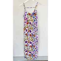 FOREVER 21 FLORAL MAXI DRESS XS $14.99