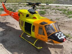R C Gas UH 1N Huey 600 size Gasser remote control Helicopter gasoline power g23 $3500.00