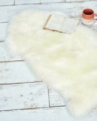 Woolovers Womens Sheepskin Fur Rug Mat Small Bedroom Living Room Area Carpet $63.99