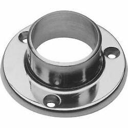 Lavi Industries Flange Wall for 1.5quot; Tubing Polished Stainless Steel $23.54