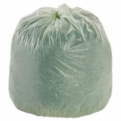 Stout Compostable Bags 48 x 60 Green 0.85 Mil Flat Pack 30 CS $83.95