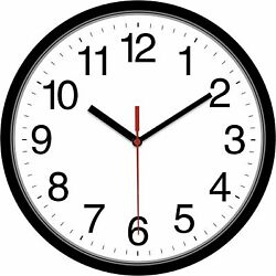 Large Wall Clock Oversized Living Room Silent Decorative Home Modern Big Office $10.99