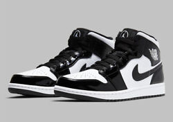 Nike Air Jordan 1 Mid SE ASW Carbon Fiber Black White DD1649 001 Men#x27;s or GS NEW $200.99