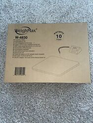 Scale Digital WeighMax Industrial Postal Floor Weight Electronic 330lb $39.99